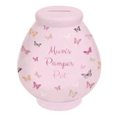 Mum's Pamper Pot Little Wishes Ceramic Money Pot