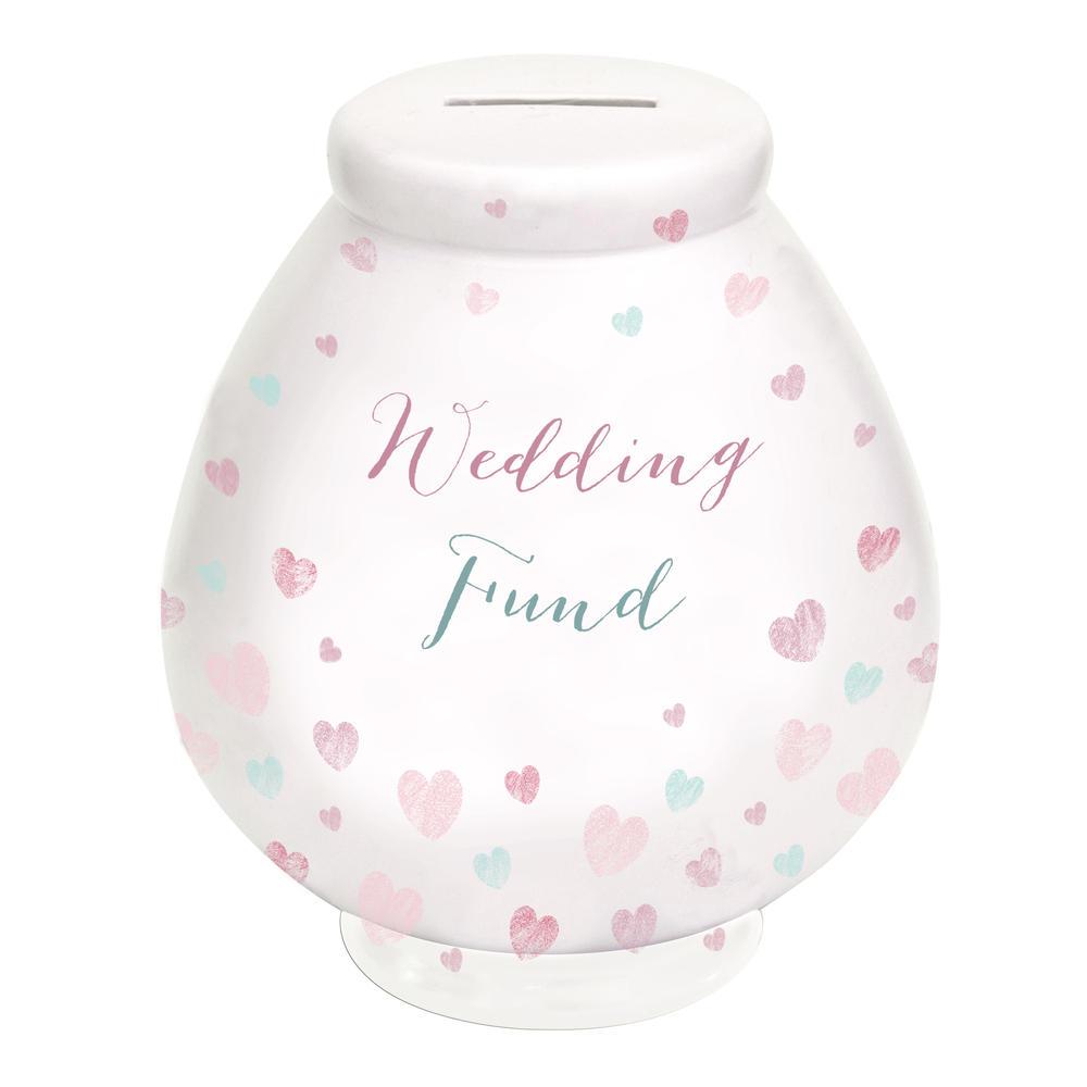 Wedding Fund Little Wishes Ceramic Money Pot