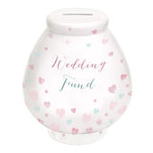Wedding Fund Little Wishes Ceramic Money Pot