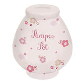 Pamper Pot Little Wishes Pretty Ceramic Money Pot