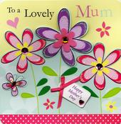 Happy Mother's Day Embellished Mother's Day Card