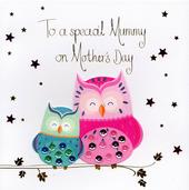Special Mummy Owls Mother's Day Card