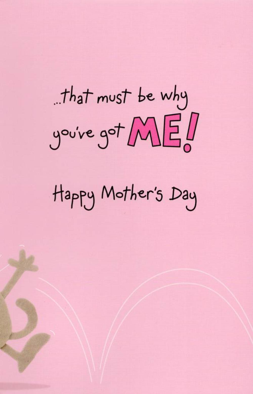 Best Mum In World Mother's Day Card With Badge   Cards ...