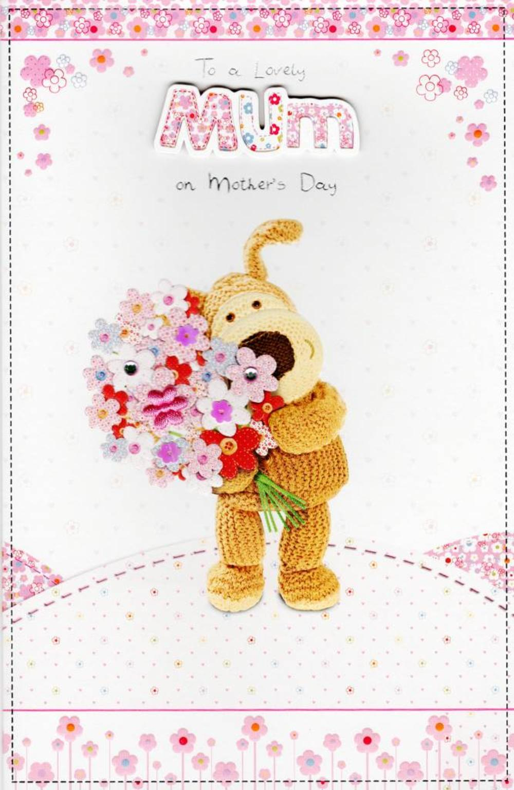 Lovely Mum Boofle Happy Mother's Day Greeting Card