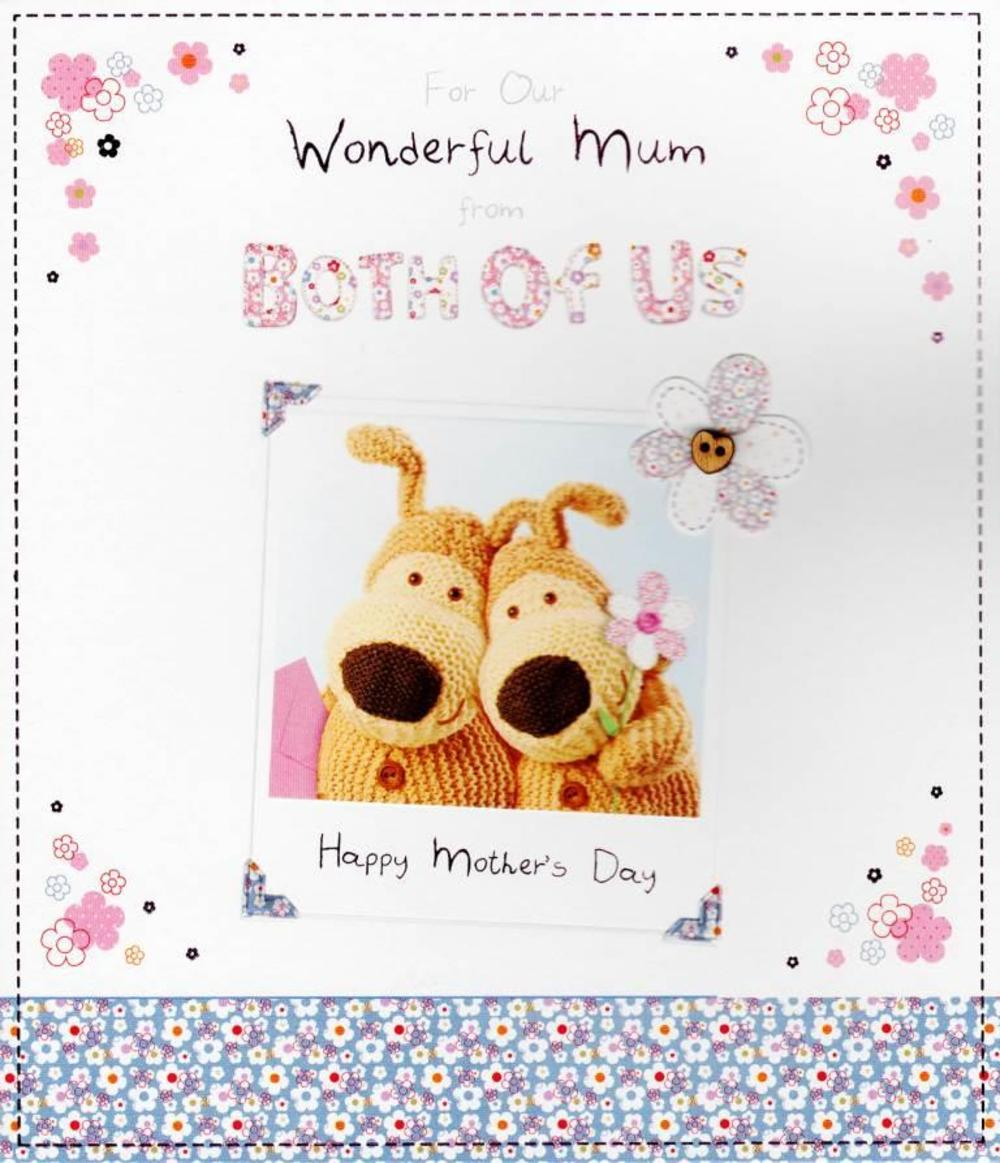 Boofle To Our Wonderful Mum Happy Mothers Day Greeting Card