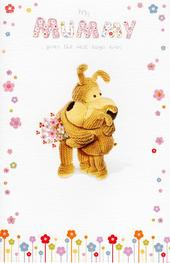 Boofle Love You Mummy Happy Mother's Day Greeting Card