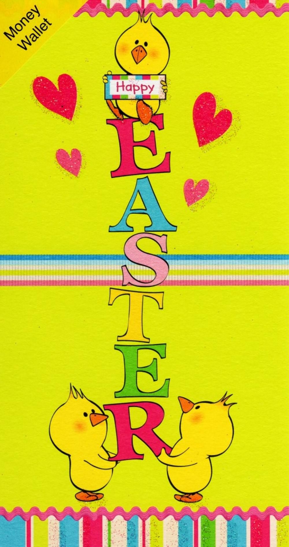 Happy Easter Money Wallet Cute Gift Card