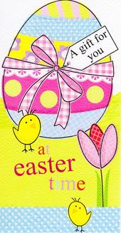 Cute Easter Time Money Wallet Gift Card