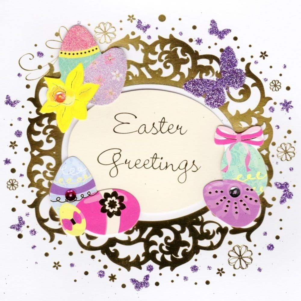 Easter greetings happy easter greeting card cards love kates easter greetings happy easter greeting card m4hsunfo