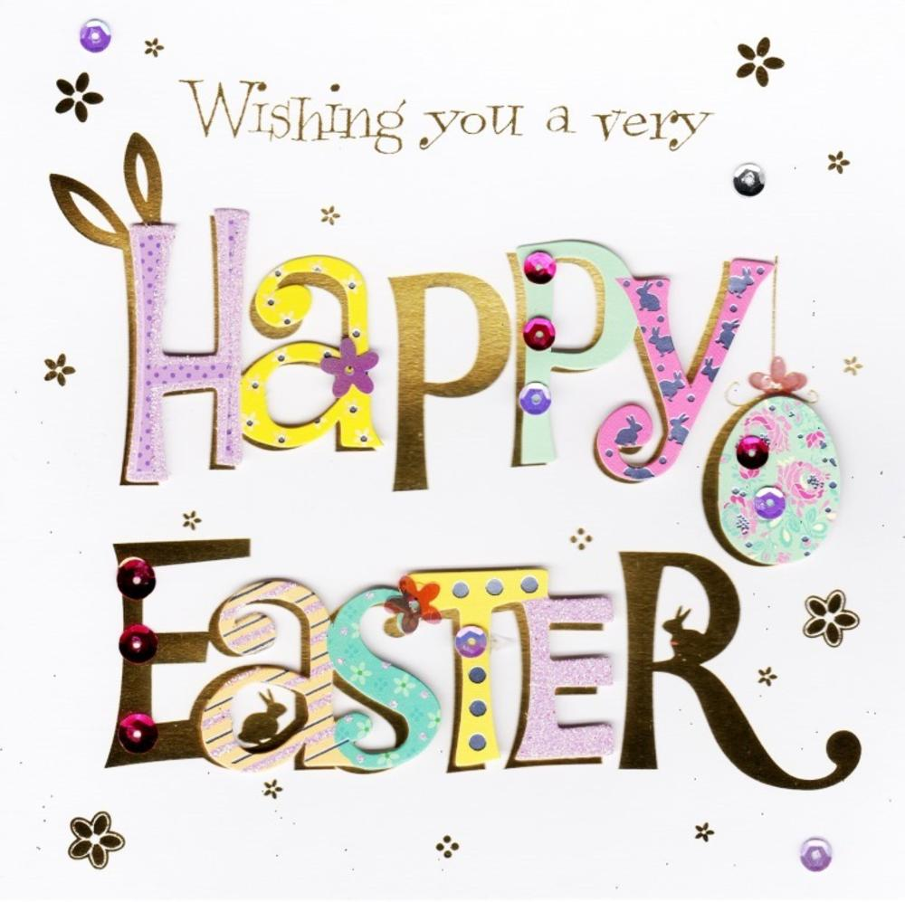 Wishing You A Happy Easter Greeting Card Cards Love Kates