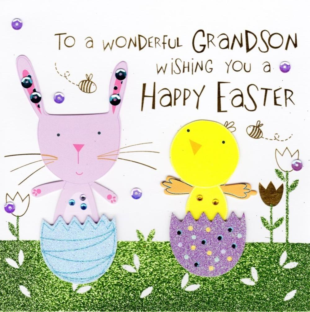Happy Easter Grandson Merry Christmas And Happy New Year 2018