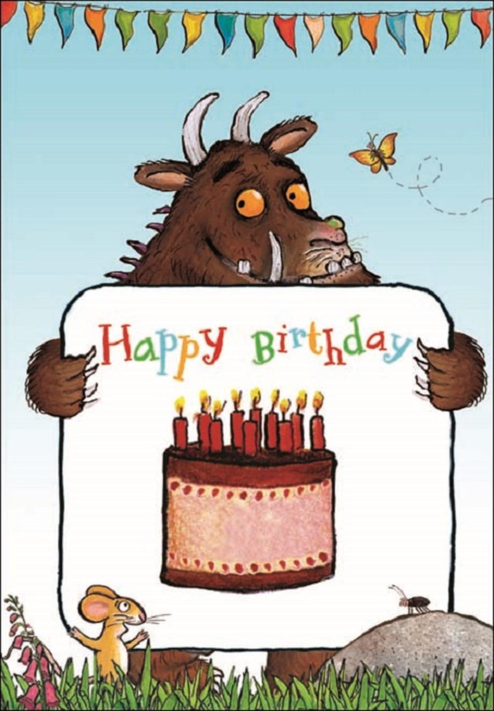 Gruffalo Happy Birthday Greeting Card
