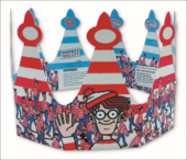 Where's Wally Birthday Crown Greeting Card