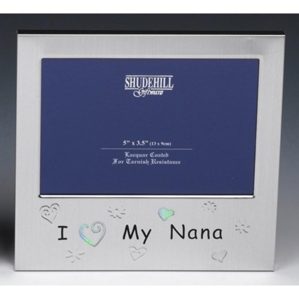 i love my nana 5 x 35 photo frame by shudehill - Nana Frame