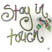 Stay In Touch Greeting Card By Tracey Russell