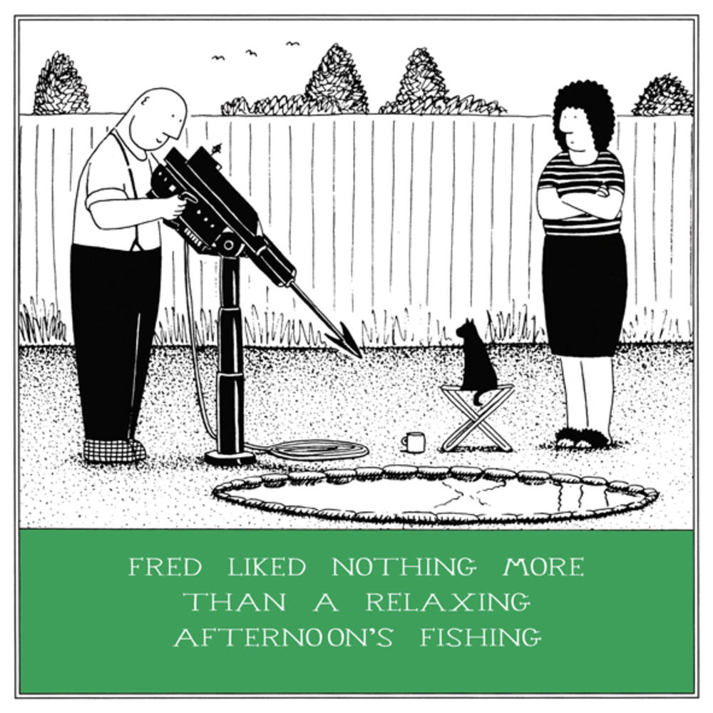Relaxing fishing funny fred birthday card cards love kates relaxing fishing funny fred birthday card bookmarktalkfo Gallery