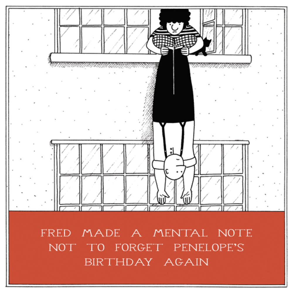 Not To Forget Birthday Funny Fred Birthday Card