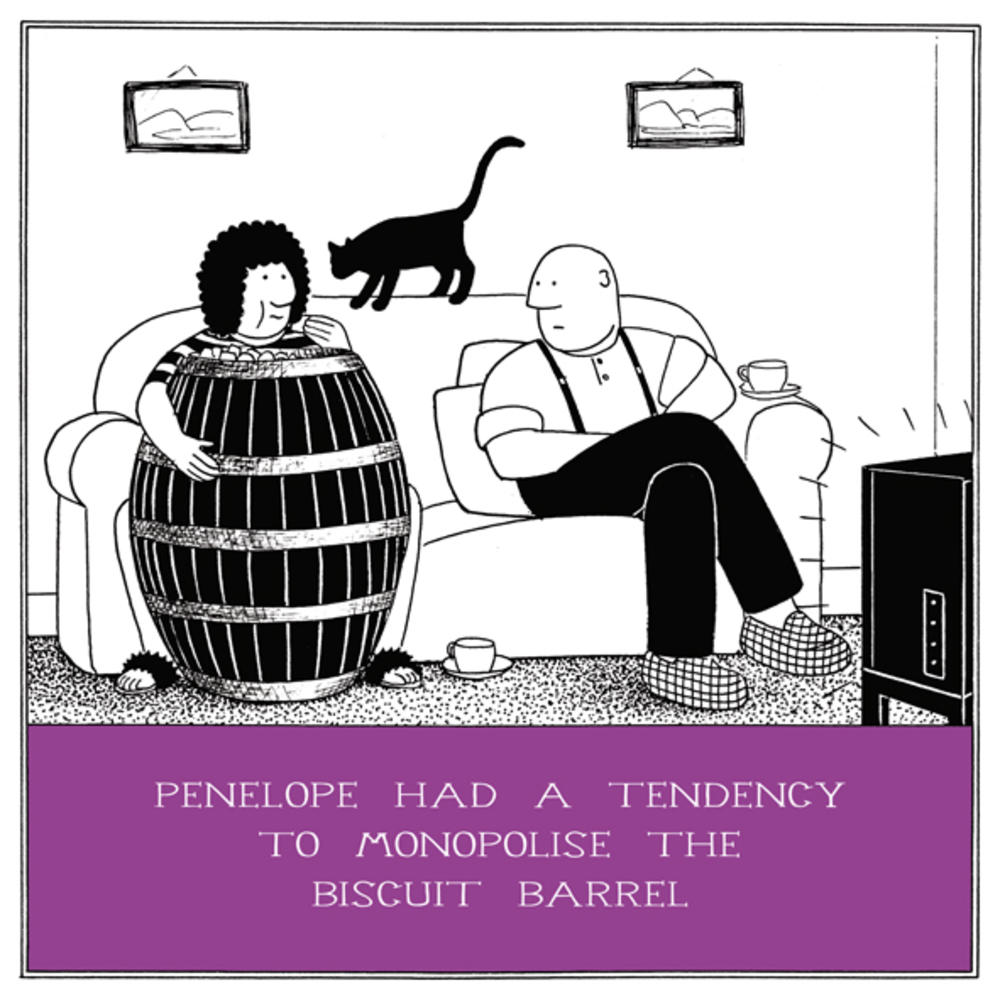 The Biscuit Barrel Funny Fred Birthday Card