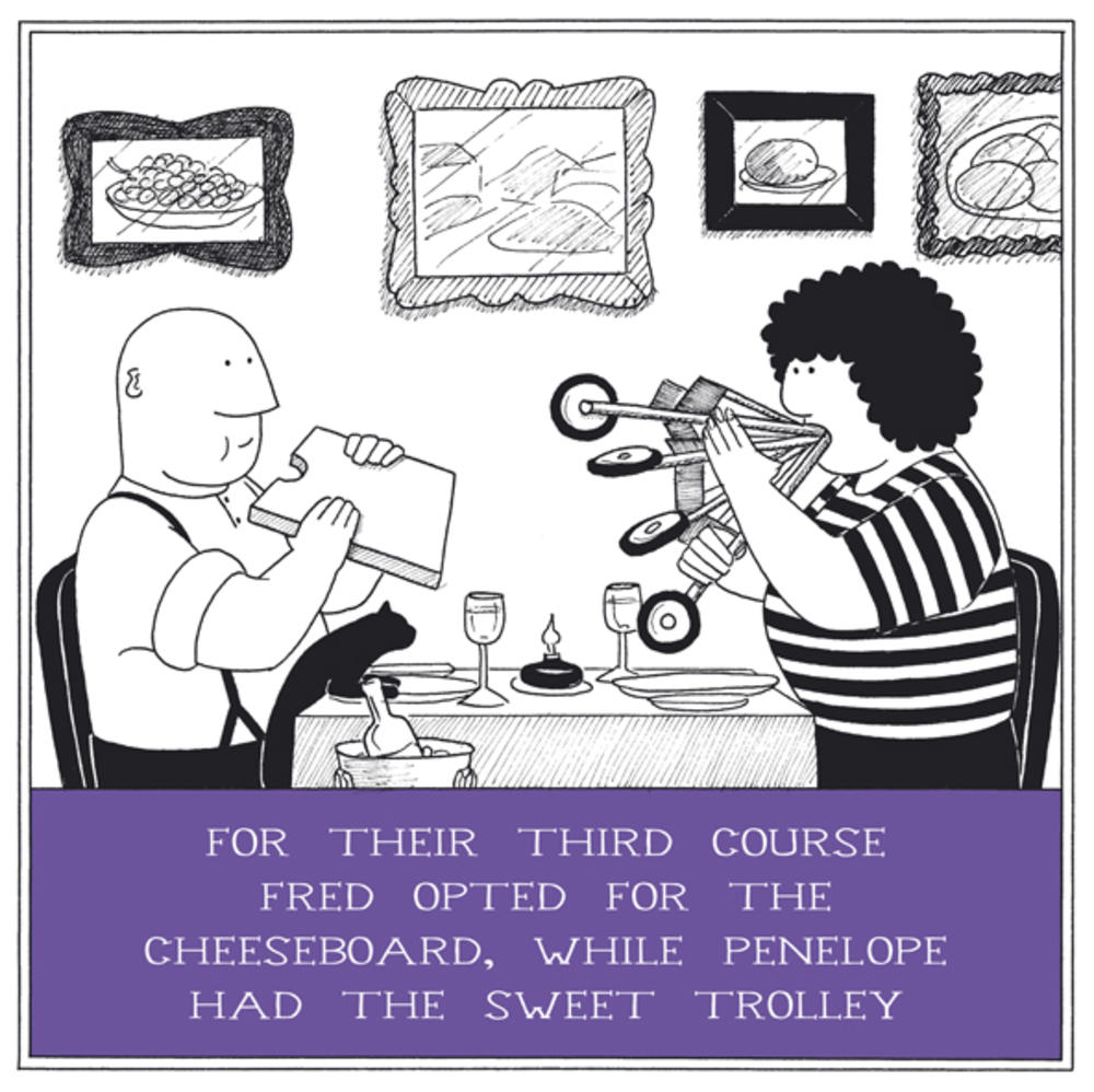 Sweet Trolley Funny Fred Birthday Card
