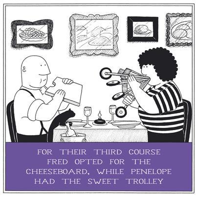Sweet Trolley Funny Fred Birthday Card