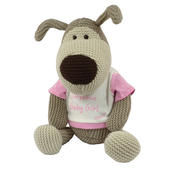 "Boofle Gorgeous Baby Girl Large 11"" Sitting Plush Toy"