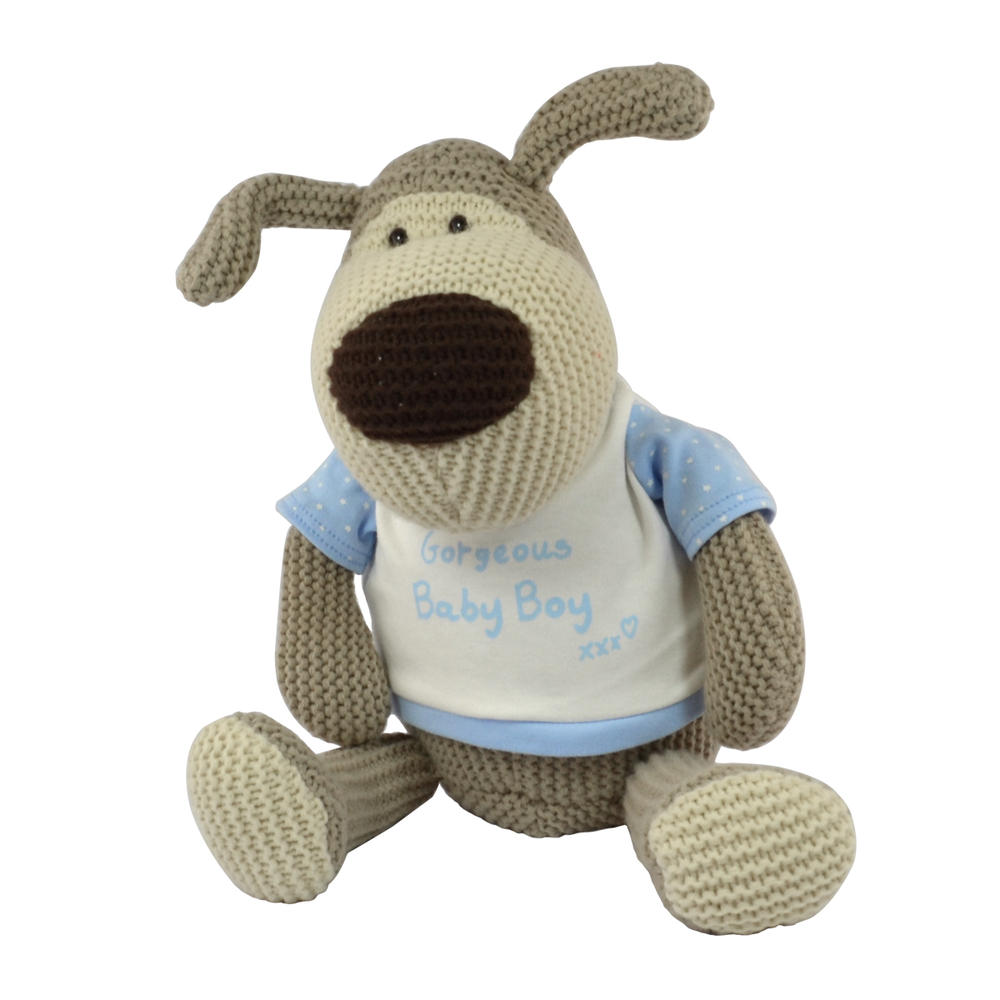 Baby Boy Gifts Toys : Boofle gorgeous baby boy large quot sitting plush toy