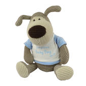 "Boofle Gorgeous Baby Boy Large 11"" Sitting Plush Toy"
