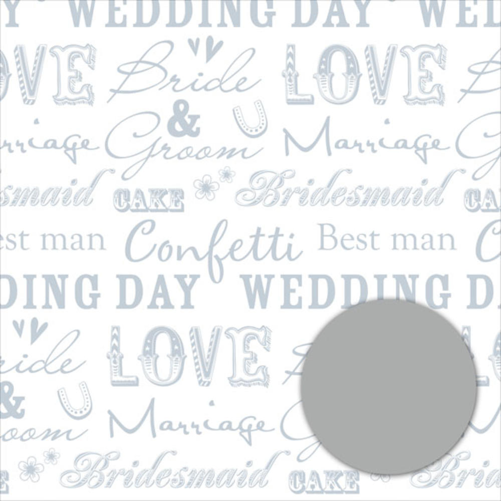 Wedding Day Wrapping Paper Pack Wrap Set