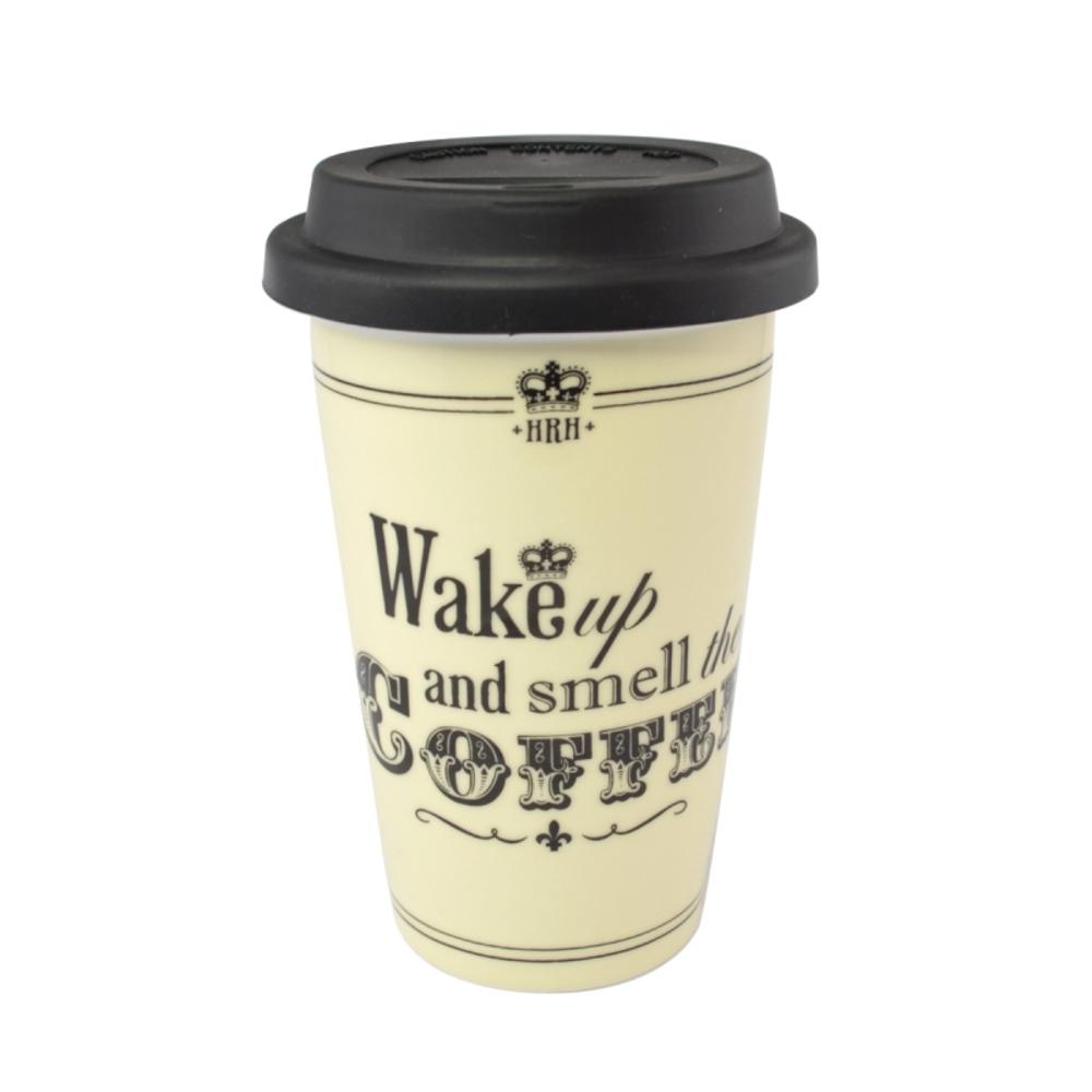 HRH Wake Up & Smell The Coffee Travel Mug