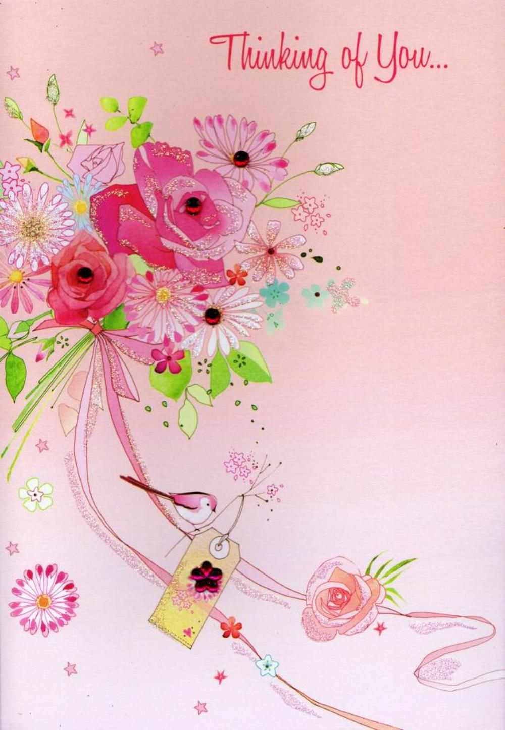 Handmade Personalised Gerbera Birthday//Get Well Soon Card Mum//Nan//Sister