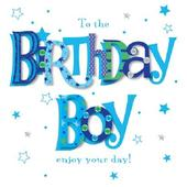 Birthday Boy Happy Birthday Greeting Card By Talking Pictures