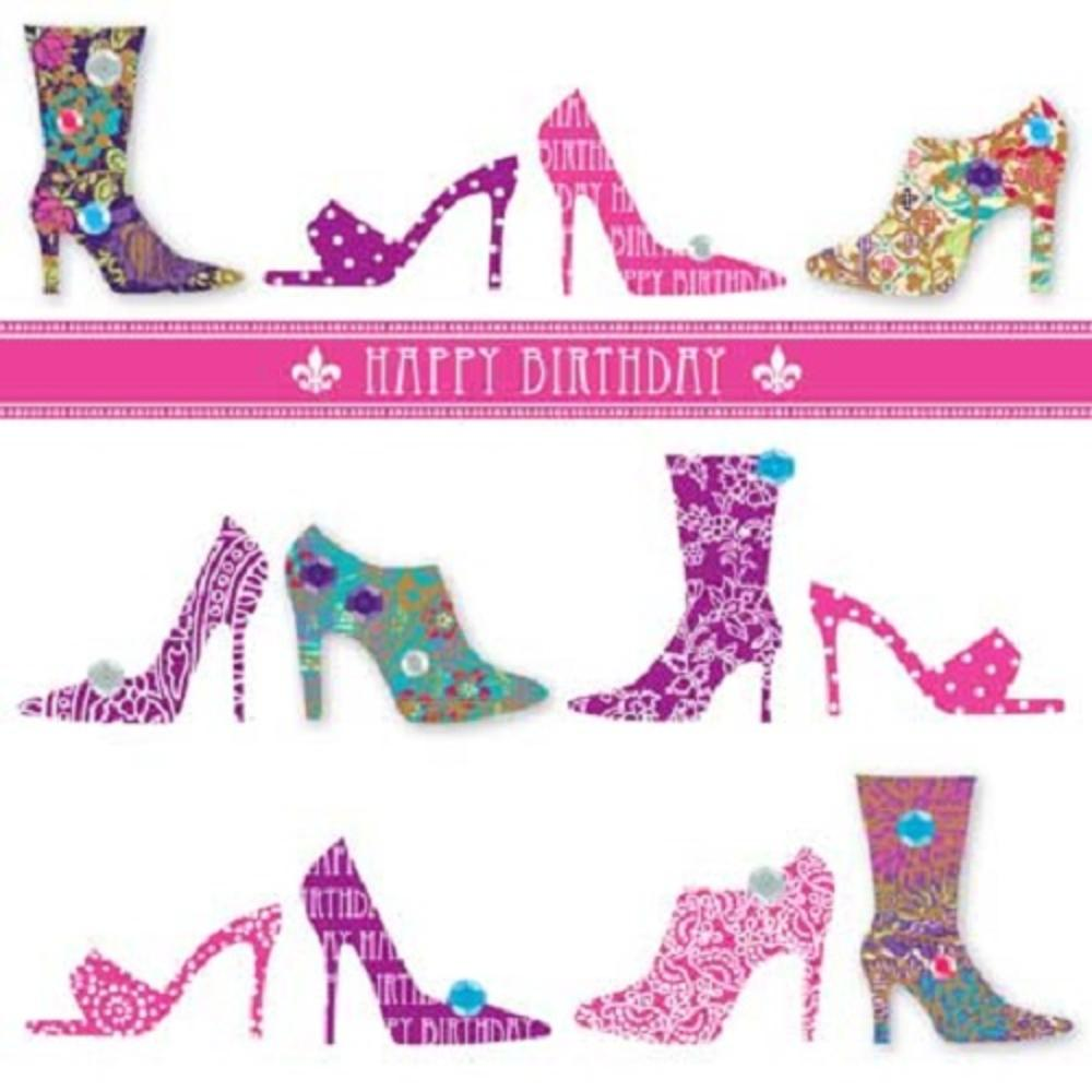 Handmade Shoes Happy Birthday Greeting Card By Talking Pictures – Talking Happy Birthday Cards