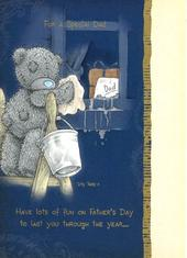 Me To You Bear Special Dad Father's Day Card