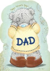 Me To You Bear Happy Father's Day Dad Card