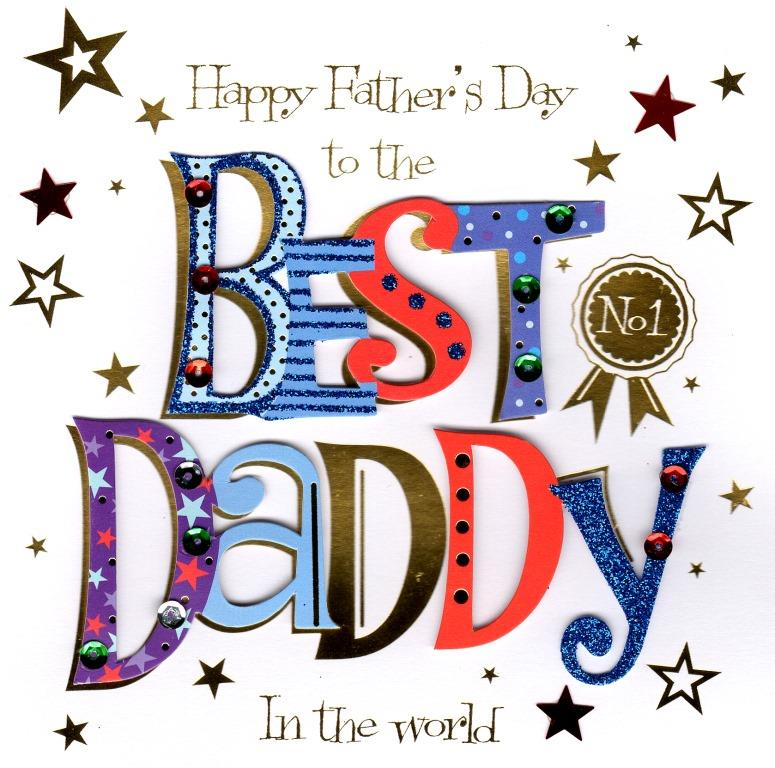 Best daddy happy fathers day greeting card cards love kates best daddy happy fathers day greeting card m4hsunfo