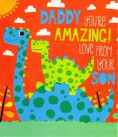 Daddy From Son Father's Day Card