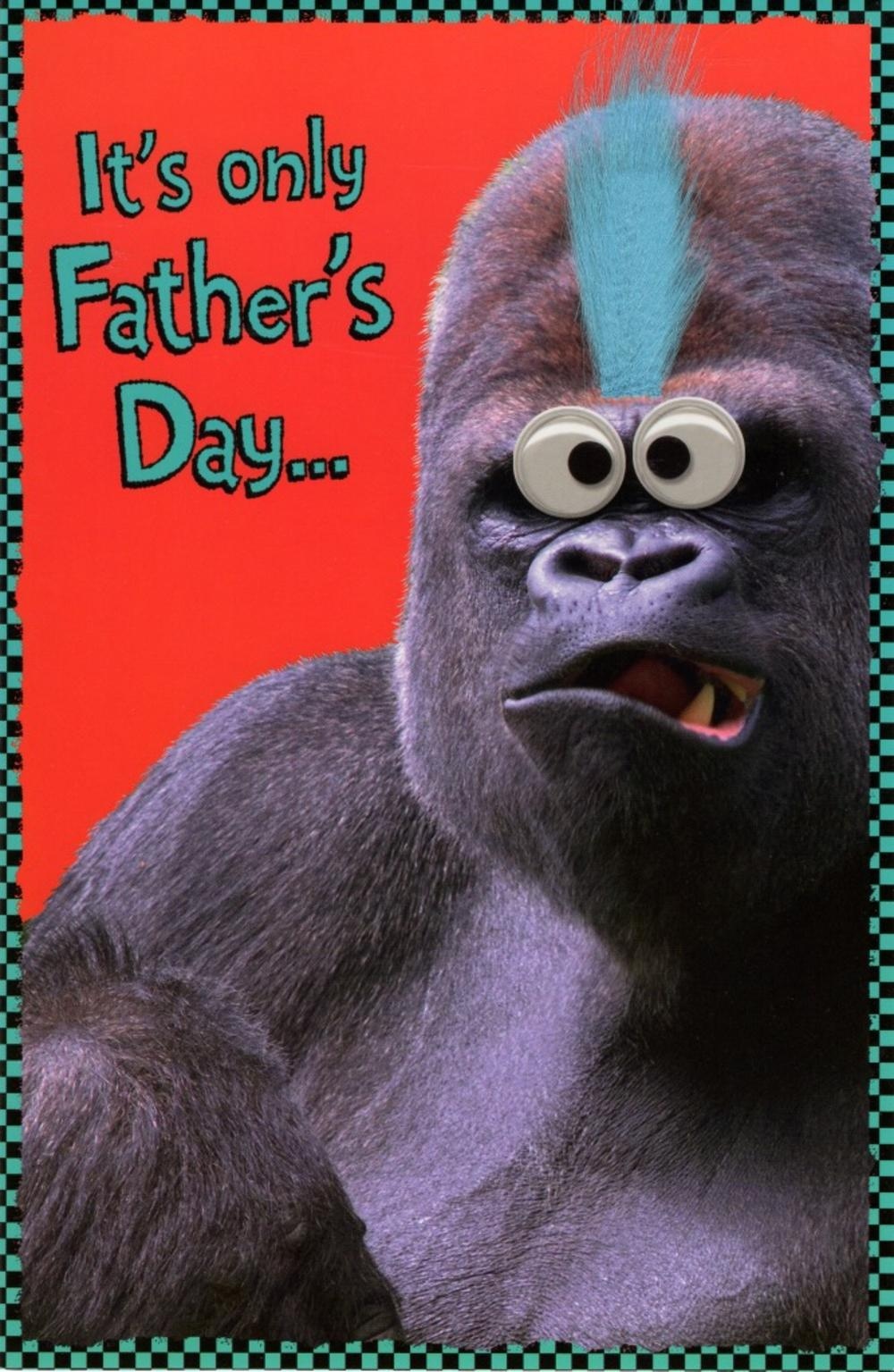 Funny Keep Your Hair On Happy Father's Day Card