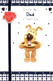 Just For You Dad Boofle Happy Father's Day Card