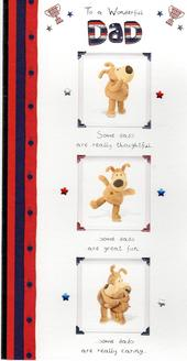Wonderful Dad Boofle Happy Father's Day Card