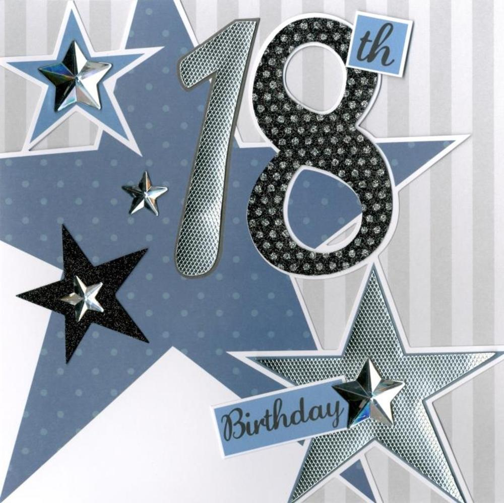 Second Nature 18th Birthday Keepsake Card