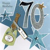 Second Nature 70th Birthday Keepsake Card