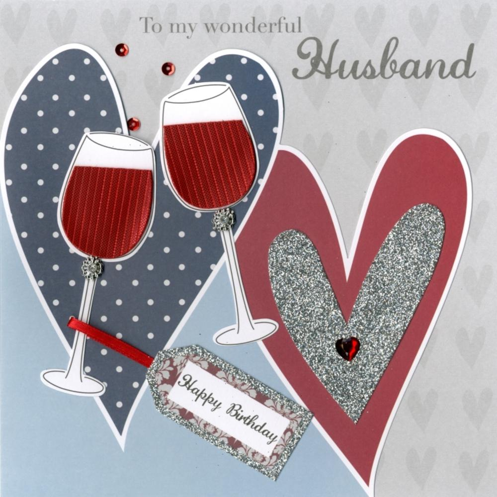 Second Nature Husband Birthday Keepsake Card