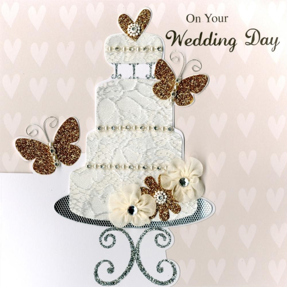 Second Nature Wedding Day Keepsake Card