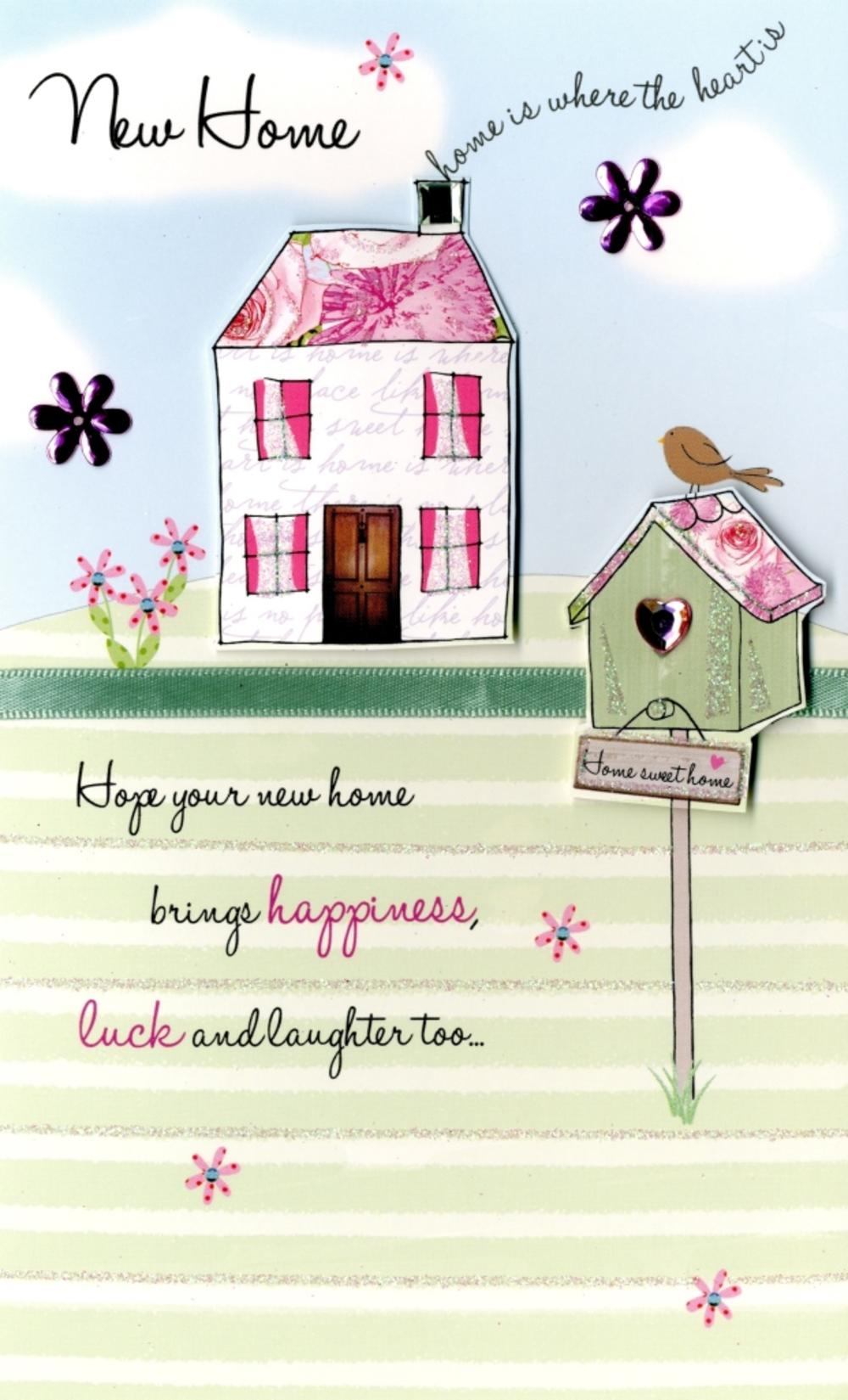 New Home Embellished Greeting Card | Cards | Love Kates