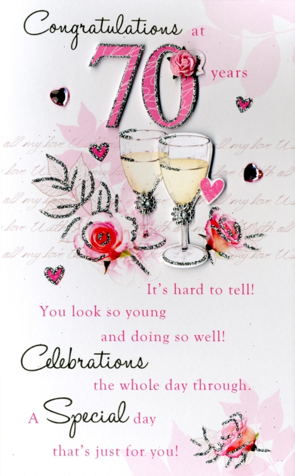 70th Birthday Wishes Pictures To Pin On Pinterest
