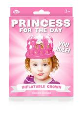 Princess For The Day Inflatable Birthday Party Crown