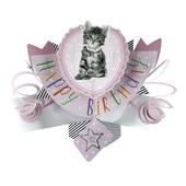 Happy Birthday Pop-Up Cat Greeting Card