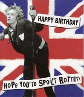 Hope You're Spoilt Rotten Humour Birthday Card