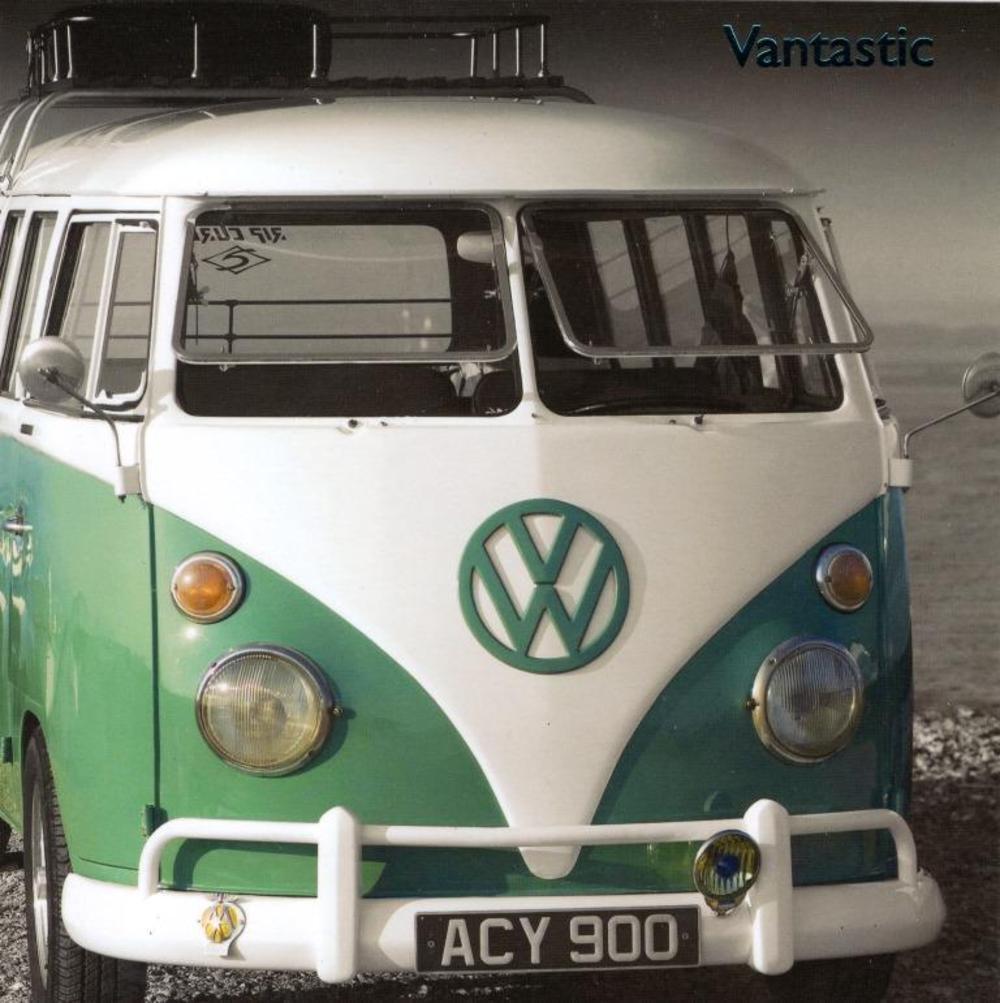 VW Camper Vantastic Greeting Card Blank Inside