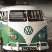 VW Camper Vantastic Greeting Card Blank Inside